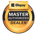 Roman Doors, Inc. is proud to be a Clopay Master Authorized Dealer.