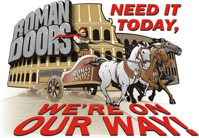 Roman Doors, Inc. Need it today? We're on our way!
